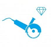Deimantinio pjovimo sistemos